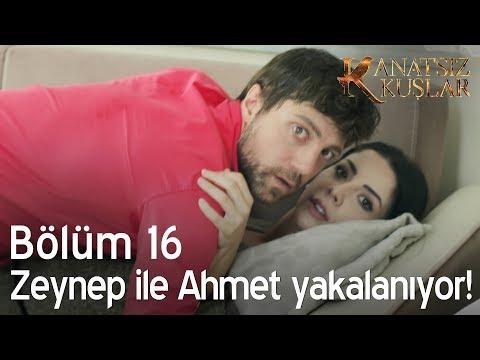 Zeynep ile Ahmet yakalanıyor - Kanatsız Kuşlar 16. Bölüm