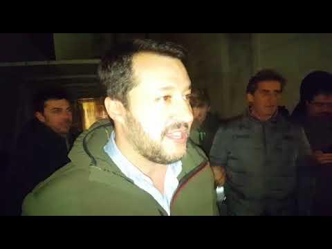 Salvini a Rovereto