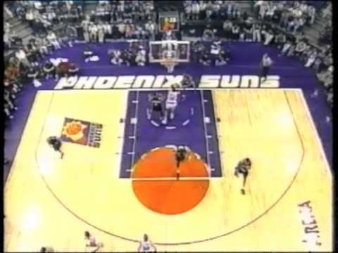 Portland trail blazers V phoenix suns NBA 1999