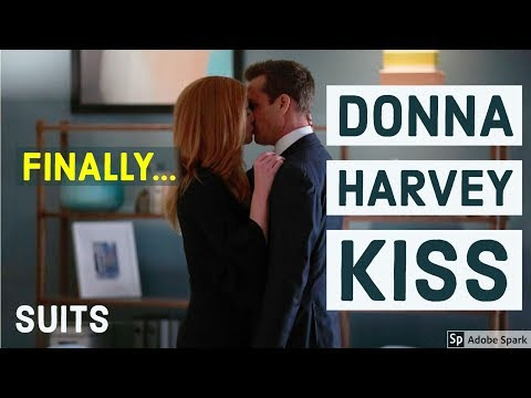 Donna Harvey Kiss | Dorvey | Suits Season 7 Best TV Moments