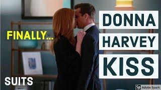 Donna Harvey Kiss | Dorvey | Suits Season 7 Best TV Moments