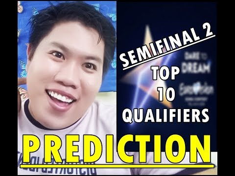 Eurovision Song Contest 2019 : SemiFinal 2 Prediction