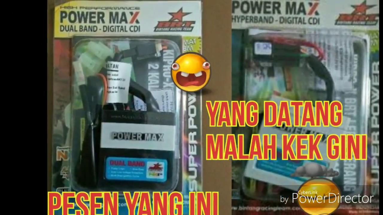 Brt Cdi Racing Beat Karbu Power Max Dual Band Daftar Harga Invio Unboxing