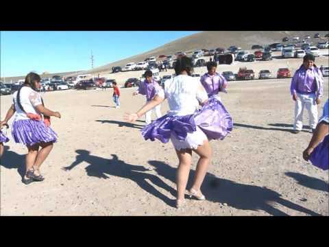Cholitas Marinas De Gira En Puerto Deseado,Bailando En La Virgen De Copakabana 2015