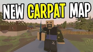 Unturned - NEW CRAZY HARD MAP with GIANT BEARS - Carpat Map - Ep. 1
