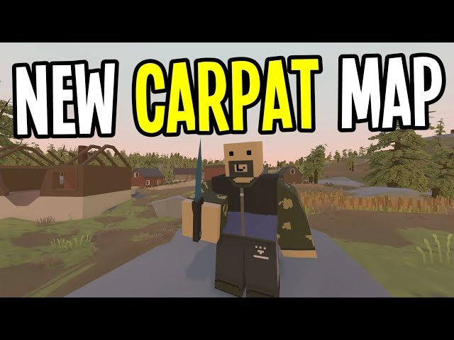 Unturned Seattle Map.Unturned New Crazy Hard Map With Giant Bears Carpat Map Ep 1