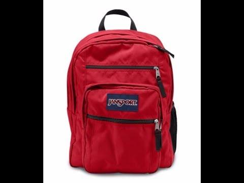 Red Tape Big Student Backpack - Jansport