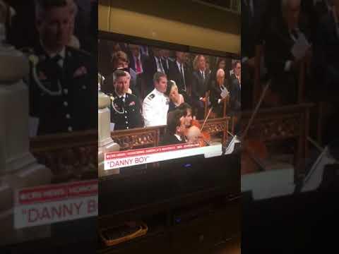 Danny Boy McCain Funeral