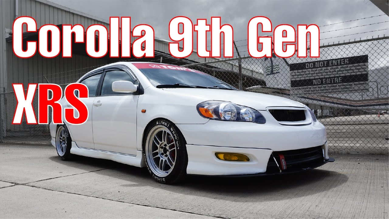 Toyota Celica 2017 >> Toyota Corolla 9th Gen XRS: Carolina, P.R. - YouTube