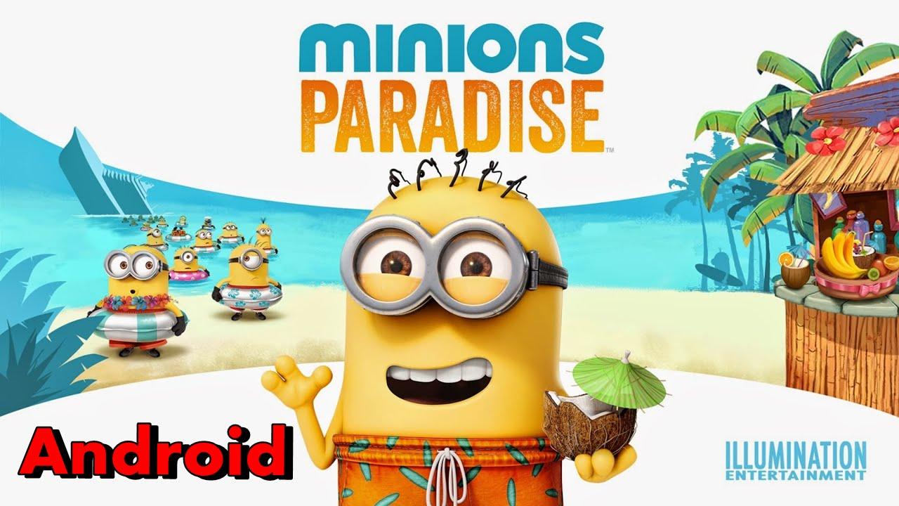 Minions Paradise Para Android Gameplay Portugues Brasil 1080p