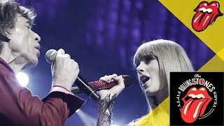 Смотреть музыкальный клип The Rolling Stones & Taylor Swift - As Tears Go By - Live In Chicago