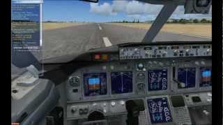 Flight Simulator X - Landung in Palma de Mallorca - Boeing 737-800