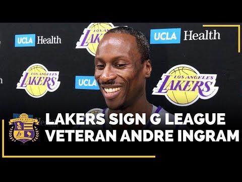 Lakers Sign G League Veteran Andre Ingram For Remainder Of Season