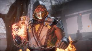 Mortal Kombat 11 baraka skin killer krok online fight vs Scorpion