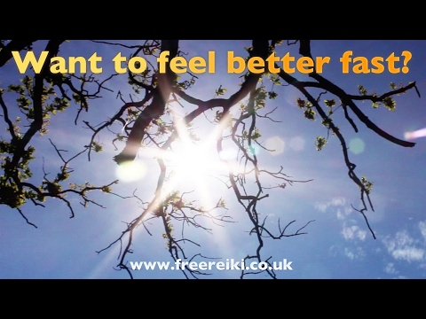 Want to feel better fast? Free Reiki healing meditation for stress ('A Ray of Reiki Sunshine')