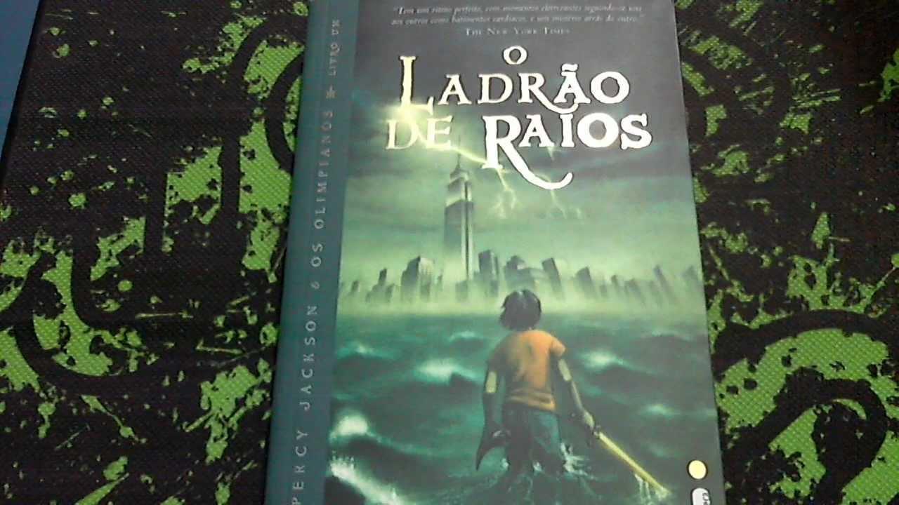 Resenha(Review) - Livro Percy Jackson e o Ladrão de Raios