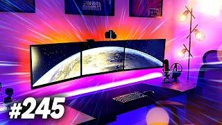 Room Tour Project 245 - SICK Desk & Gaming Setups!