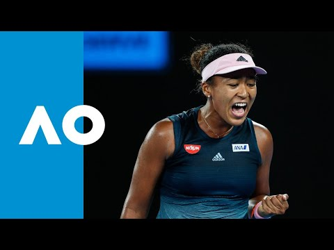 Karolina Pliskova v Naomi Osaka match highlights (SF) | Australian Open 2019