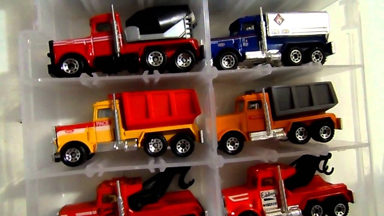 Flatbed Tow Truck >> MATCHBOX PETERBILT TRUCK UPDATE!!! 10/16/14 - YouTube
