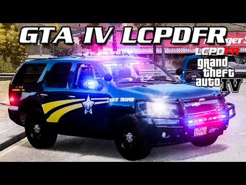 GTA IV LCPDFR MP - Oregon State Police