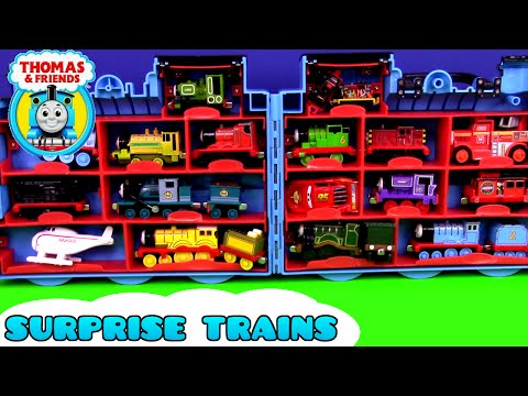Thumbnail: Giant Egg Surprise Thomas and Friends Thomas Trains in Surprise Eggs Opening Thomas Train Collection