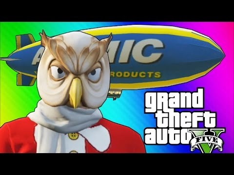 GTA 5 Online: Fun Job - Tow Trucks, Blimps, & Stun Gun Hookers! (GTA 5 Funny Moments)