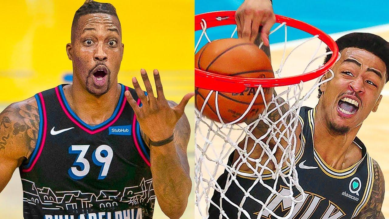NBA - Most BRUTAL Playoffs Dunks ! 🥶