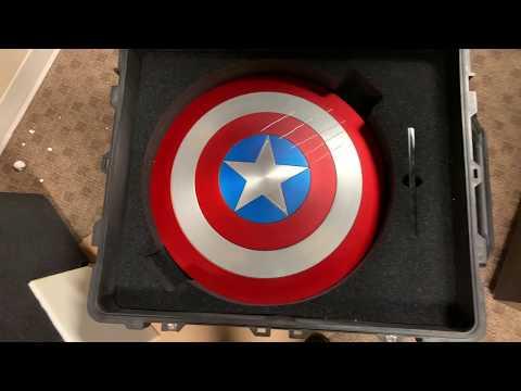 Marvel MasterWorks Captain America Shield unboxing 4K