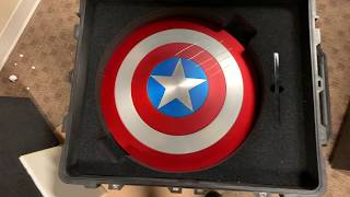 Marvel MasterWorks Captain America Shield unboxing 4K