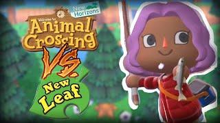 Animal Crossing: New Horizons Animation Comparison!