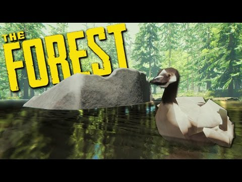 BUILDING OUR ISLAND HOME - The Forest Updated 2016 Gameplay #8