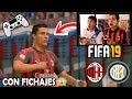 Duelo ÉPICO!!! PARTIDO FIFA19 ⚽️ AC MILAN Vs INTER MILAN