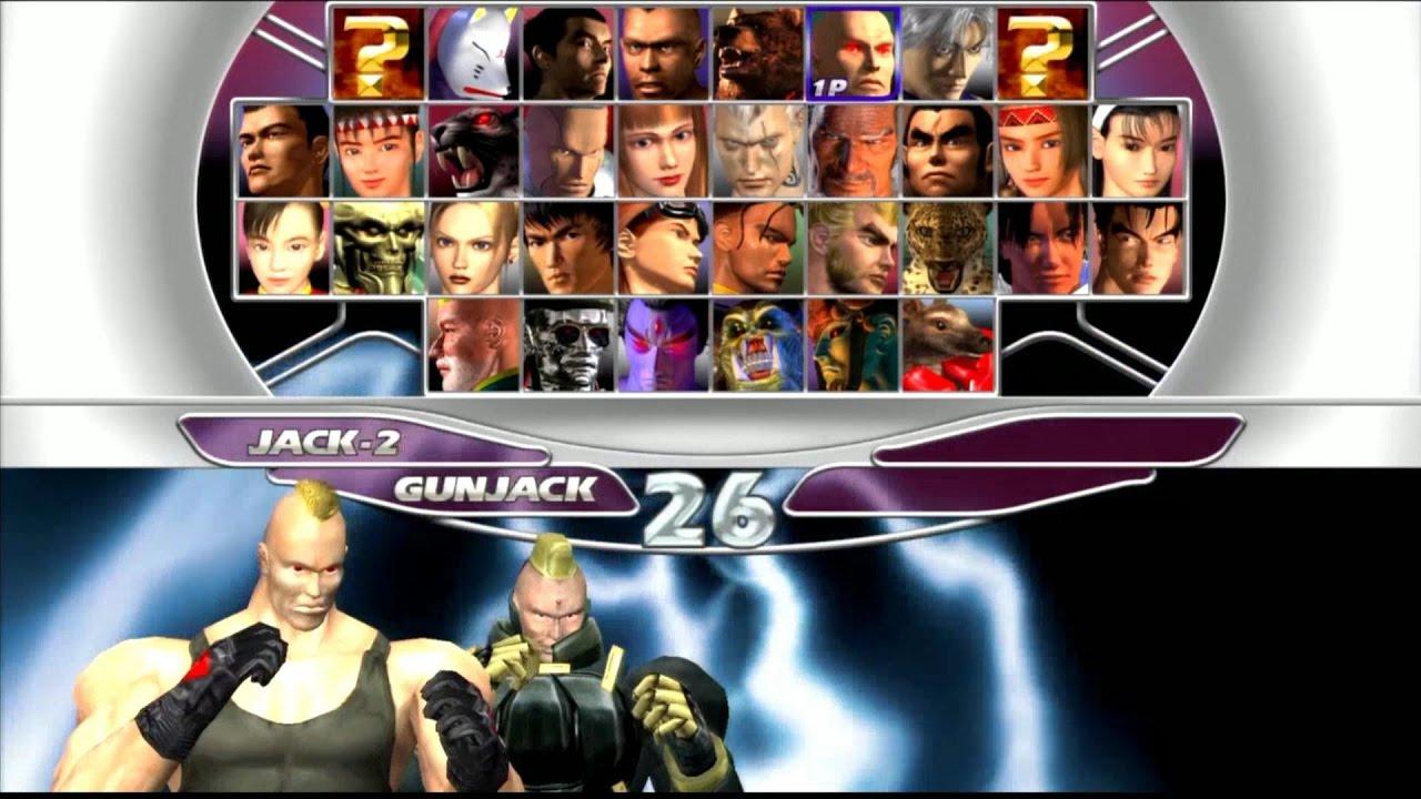 Tekken Tag Tournament Gun Jack Jack 2 Youtube