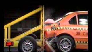 BMW E38 Crash test !