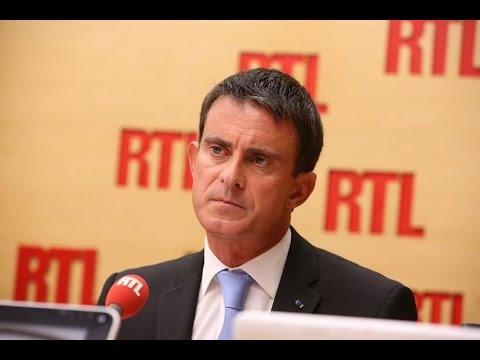 Manuel Valls répond aux questions des auditeurs sur RTL le 6 septembre