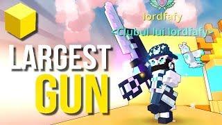Trove - Largest GUN in Trove!