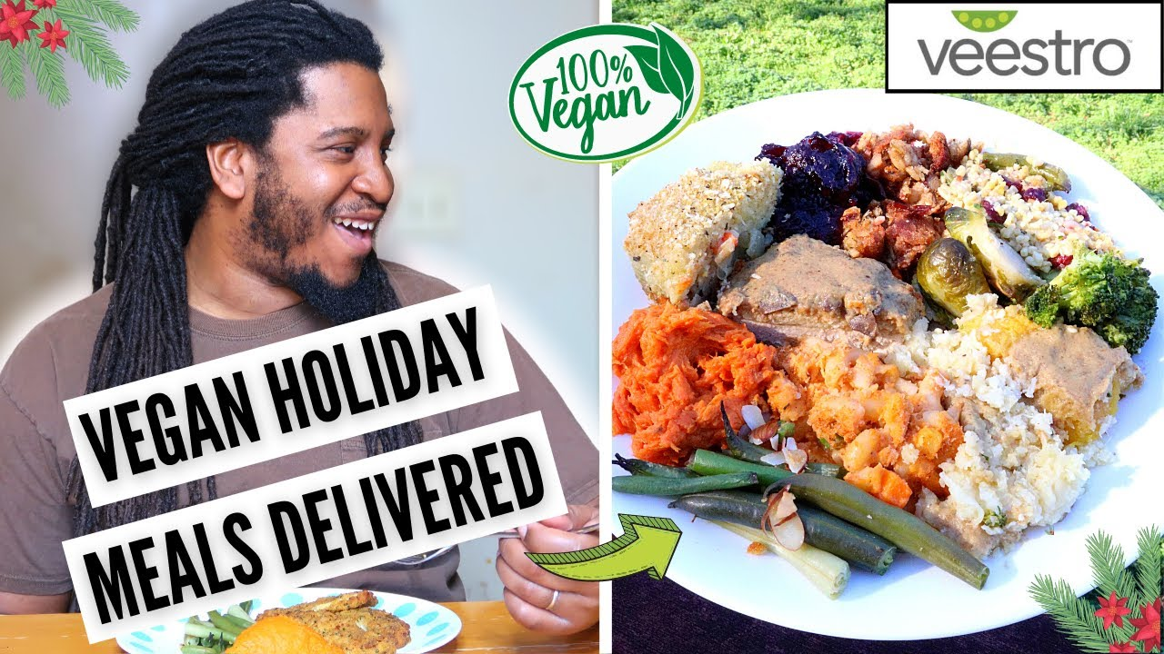 GOURMET VEGAN MEAL DELIVERY Holiday Edition | Veestro Review