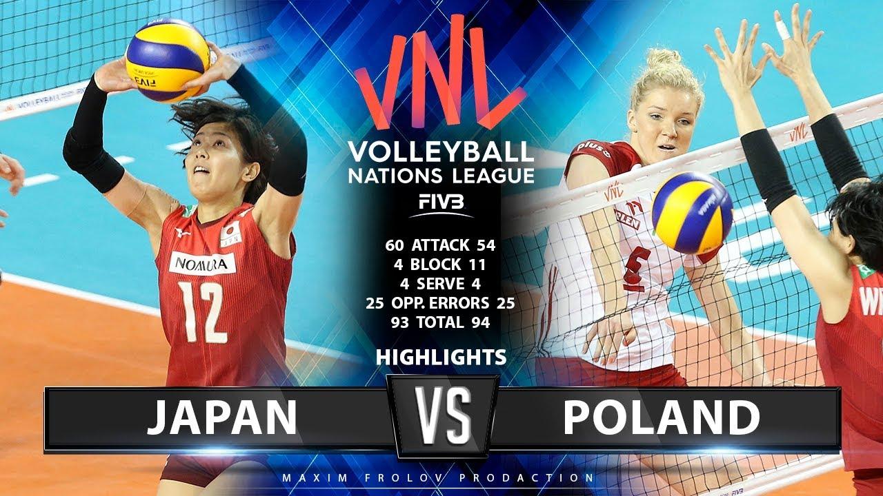 Japan Vs Polen