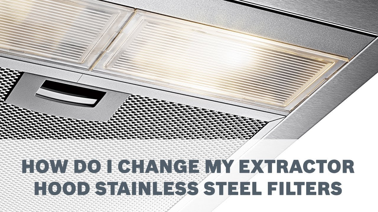 Extractor Hood Stainless Steel Filters
