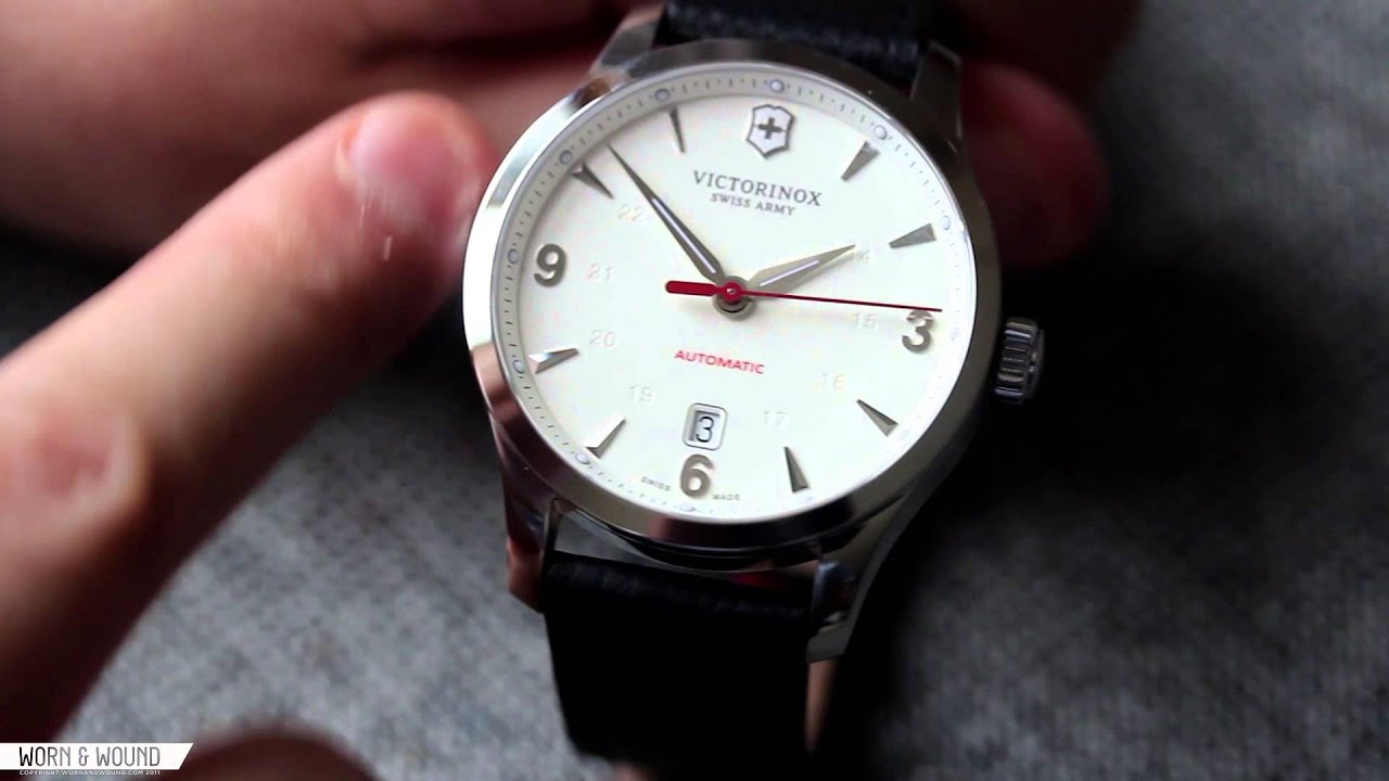 wornampwound victorinox alliance mechanical review youtube