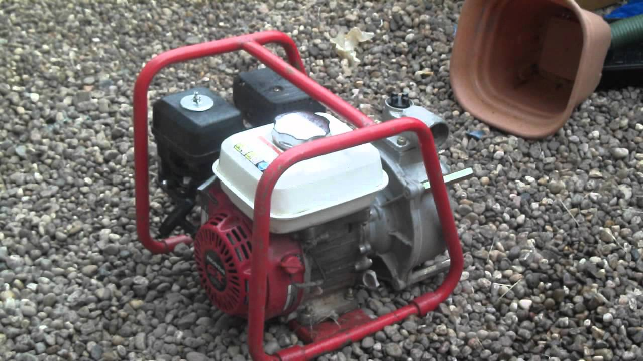 honda gx 120 water pump