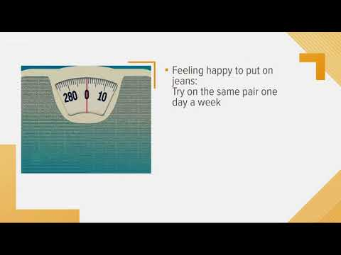 Tracking weight loss without a scale