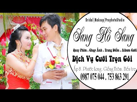 "DAM CUOI MIEN TAY . MINH MAN THI LAY 02 10 2016+ showroom áo cưới "" SANG HO SANG"
