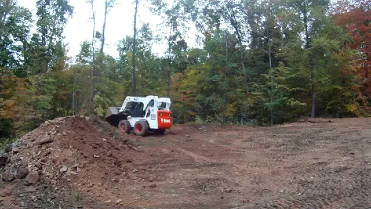 Bobcat A300 Moving Dirt