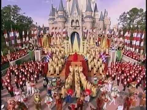 joy to the world the walt disney world christmas day parade 2004