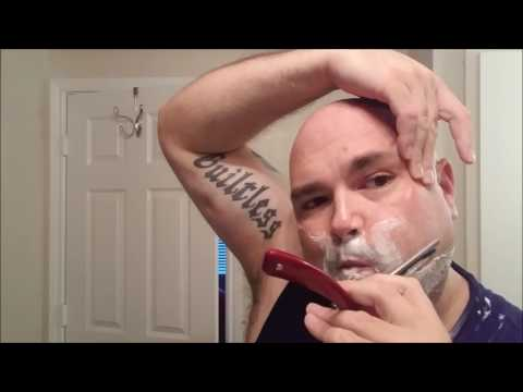 First Shave with Monsieur Charles Shavette-- Just Call Me Officer Marvin Nash