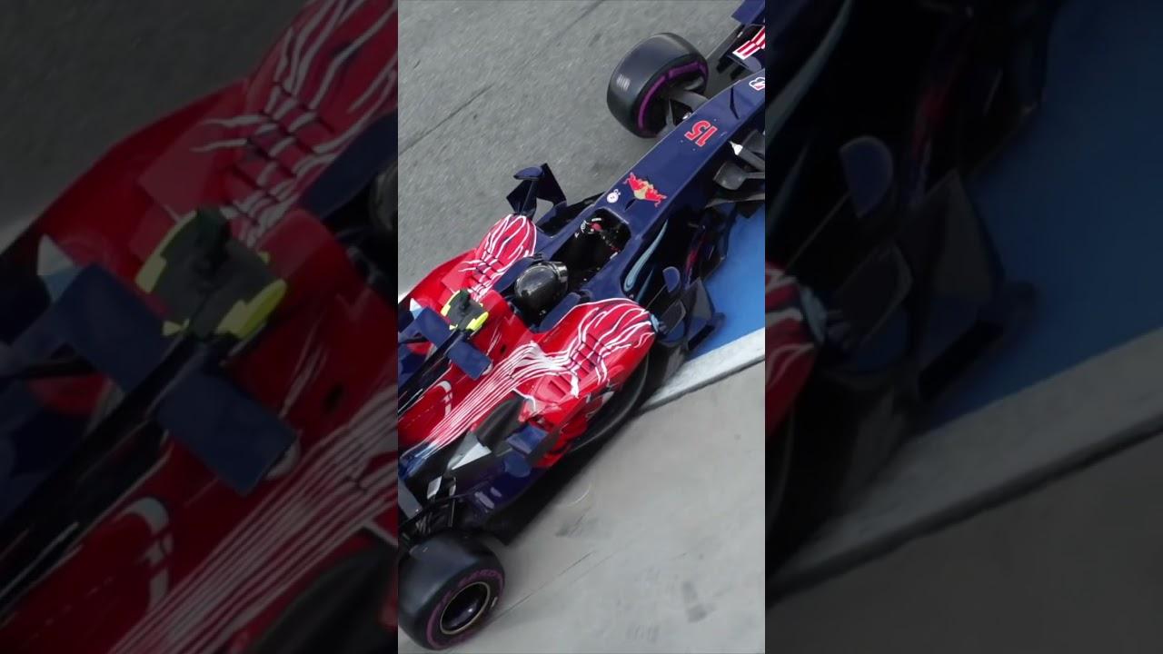 Back on Track! Der legendäre STR3 von Sebastian Vettel in Monza 2021 #shorts - MOTOR TV22