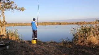 Нифига поймал кабанчика! Рыбалка в краснодарском крае!!!