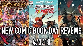 New Comic Book Day Reviews 4/3/19 - War of the Realms, Section Zero and more!