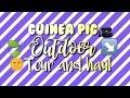 Guinea Pig Outdoor Enclosure Tour| Vlog